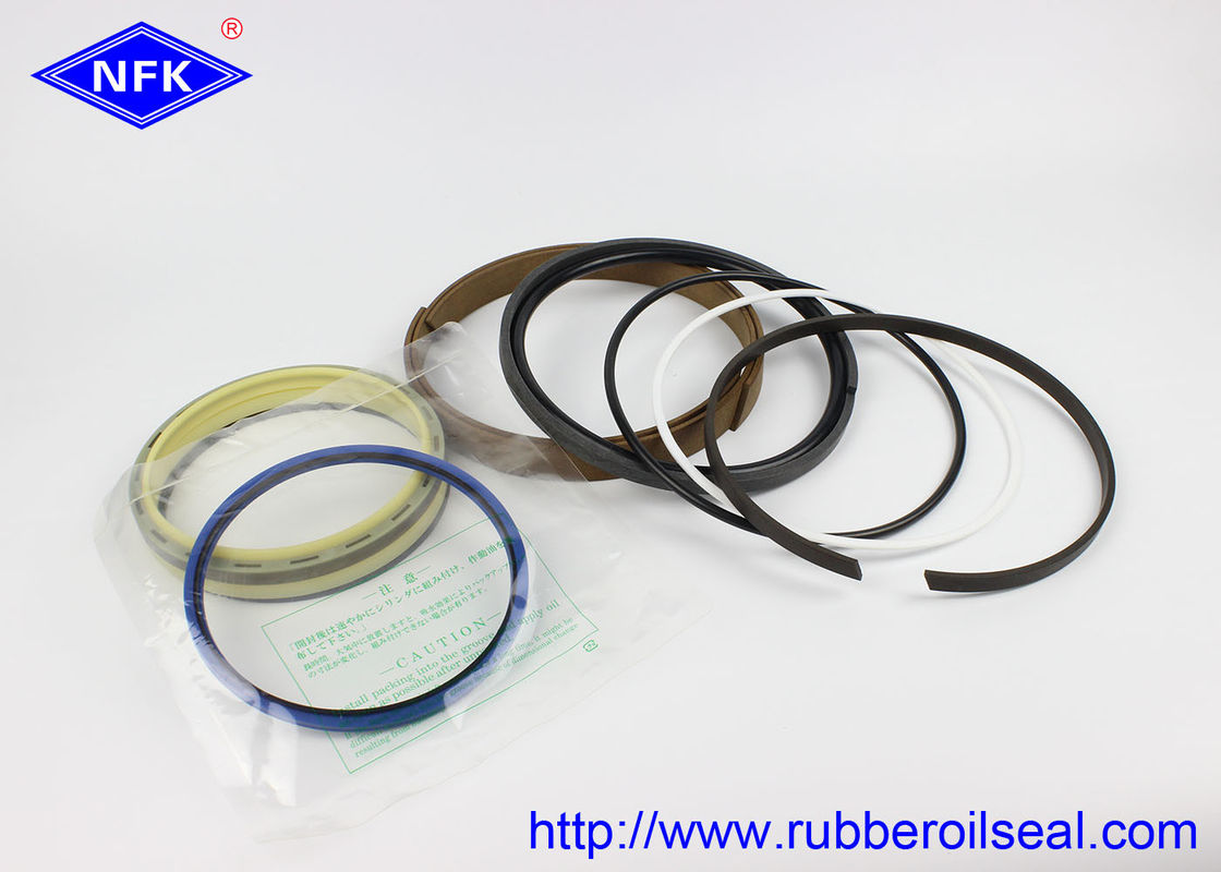 Hydraulic Boom Excavator Seal Kit , Bucket Cylinder Seal Kit PU 93A Hardness
